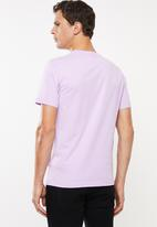 adidas Originals - Trefoil short sleeve tee - purple