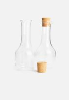 Humble & Mash - Oil & vinegar carafe set of 2