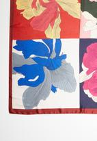 Joy Collectables - Abstract floral scarf - multi