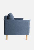 Sixth Floor - Hector 3-seater sofa - navy