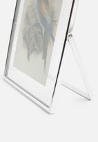 Sixth Floor - Metal photo frame - silver