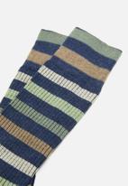 Falke - Falke ribbed stripe socks - multi