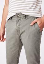 Cotton On - Skinny stretch chino - grey