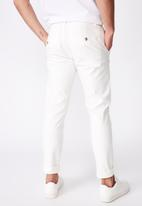 Cotton On - Skinny stretch chino - white