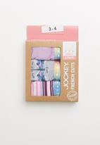 Jockey - 3 pack memory stripe luxe french cut - multi