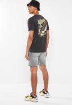 Cotton On - Sturgis hills Tbar moto T-shirt - charcoal