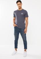 Cotton On - Yosemite Tbar souvenir T-shirt - grey / blue