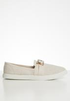 Cotton On - Belle buckle slip on - neutral