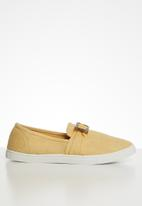 Cotton On - Belle buckle slip on - tan
