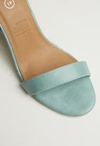 Cotton On - San Luis heel - turquoise