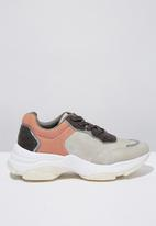 Cotton On - Monica sleek chunky sneaker  - multi