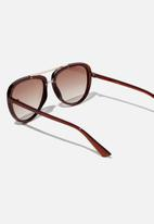 Cotton On - Pip aviator sunglasses - brown