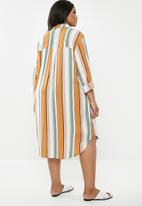 Superbalist - Soft shirt dress - multi