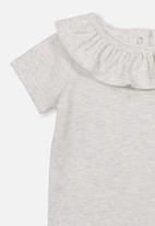 Cotton On - The neck ruffle bubbysuit - grey