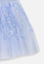 Cotton On - Trixiebelle tulle skirt - blue