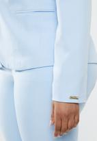 POLO - Plus size tessa basic suit blazer - blue