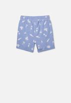 Cotton On - Henry slouch short - blue & white