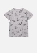 Cotton On - Max short sleeve tee - grey