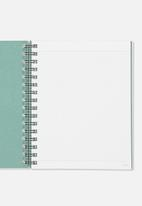 Typo - A5 campus notebook grid internal - blue