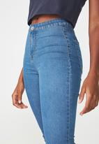 Factorie - The jegging - blue