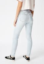 Factorie - The skinny high rise jean - blue