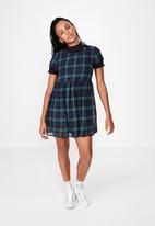 Factorie - Babydoll dress - navy & blue