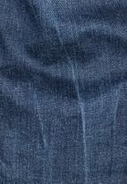 G-Star RAW - Arc 3d mid waist skinny - blue