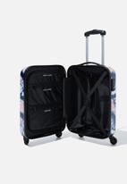 Typo - Tsa small suitcase - blue & pink