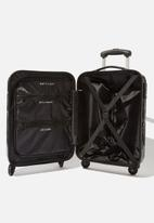 Typo - Tsa small suitcase - black