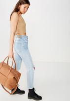 Typo - Nuevo overnighter bag - tan
