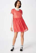 Factorie - Babydoll dress  - red