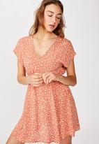 Cotton On - Woven ultimate tea dress  - multi