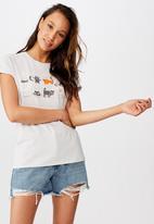 Cotton On - Classic arts T-shirt - grey