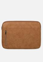 Typo - Take charge 13 inch laptop cover - tan