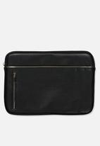 Typo - Take charge 13 inch laptop cover - black & gold