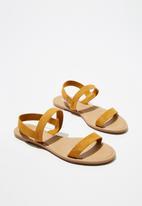 Cotton On - Everyday cyrell sandal - yellow