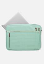 Typo - Take charge 13 inch laptop cover - turquoise