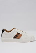 Cotton On - Liana low rise - white & brown