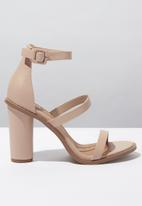 Cotton On - Lily block heel  - neutral