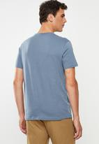 RVCA - Astro hex short sleeve tee - blue
