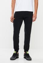Superdry. - Orange label lite jogger - black