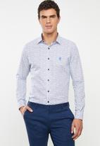Pringle of Scotland - Burris long sleeve styled shirt - multi