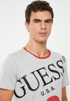 GUESS - Too large tee - multi