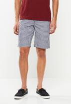 Pringle of Scotland - Bickford shorts - navy & white