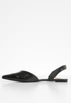 STYLE REPUBLIC - Slingback metallic -pumps - black