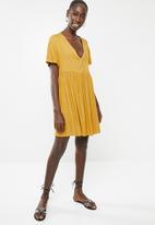 Superbalist - Babydoll dress - yellow