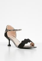 Miss Black - Hope heel- black