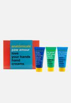 anatomicals - Paw amour hand cream set
