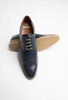 Watson - Adam leather brogue - navy