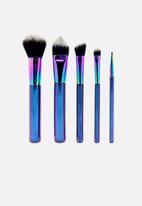 W7 Cosmetics - Starry nights 5 piece brush set